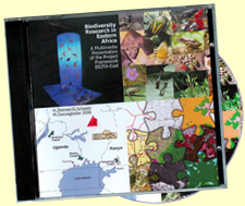 DVD: Biodiversity Research in Eastern Africa- Cover